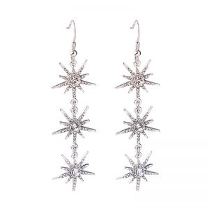 3f12a6f404a4 Bethenny s triple starburst dangle earrings as seen on Real Housewives of  New York City. Season 10